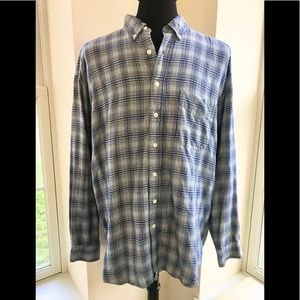 Soft Old Navy 100% cotton flannel button down!